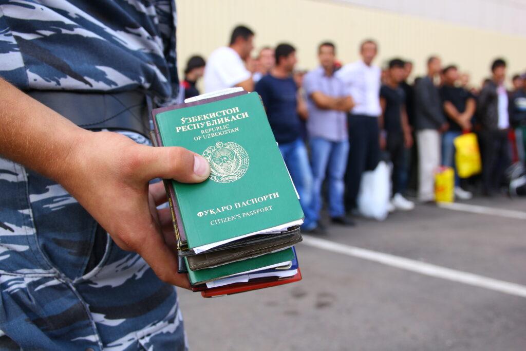 Пребывания иностранных мигрантов в России картинка